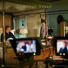 A different view!  #Downton #DowntonAbbey #BehindTheScenes #TheFinalSeries