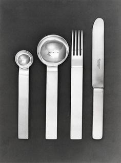 Posate ed altri oggetti per Krupp Italiana (Inizio della collaborazione) - Giò Ponti