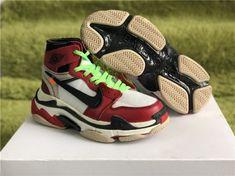 14f0dc45e2c2 Official Balenciaga Triple S x Virgil Abloh x Air Jordan 1 - Mysecretshoes New  Nike Air