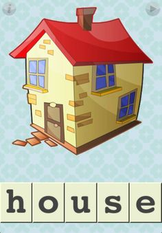FirstWords: At Home ($1.99)FirstWords: At Home is toddler-tested and approved, with a user-interface designed specifically for the littlest of fingers. Even the youngest kids can play. Touch a letter, and its name is spoken. Push the letter to the right location, and it snaps into place. Complete a word, and hear the word spelled out while an entertaining animation is played.    A variety of options let you tune the game to match your child's abilities.