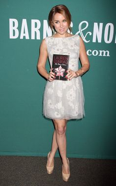 Lauren Conrad Fame Game booktour Barnes & Noble, NY City. Love this look!