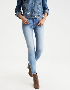 American Eagle Outfitters AE Denim X Jegging #americaneagleoutfitters