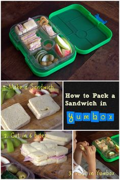 Tea sandwiches are just the most ideal thing to send in a Yumbox. And kids love them!
