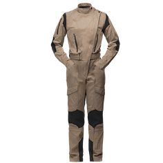 The one piece Flight Suit for women from the Rotor Collection is designed for helicopter pilots and offers performance and comfort. Mens Sweat Suits, Helicopter Pilots, Suit Pattern, Jumpsuits For Women, Military Jacket, Street Wear, Khaki Pants, One Piece, Beige