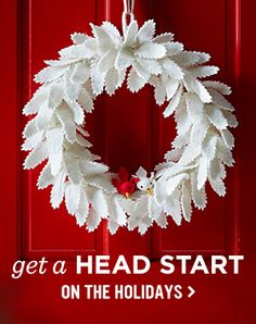 Get A Head Start On The Holidays