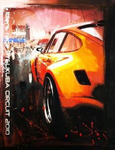 Car Paintings by John Anthony Sahs