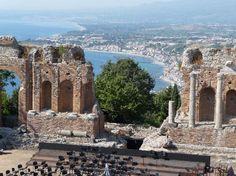 Sicily, Italy: Greek Theatre at Toramina, province of Messina , Sicily region Italy