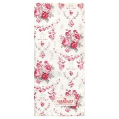GreenGate Autumn/Winter 2014 Teatowel Coco White 50 x 70 cm