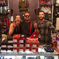 @zacholzapfel @Jensenjeff and I bought @vans and @converse for everyone @missionbeltco from @journeysshoes  #journeysshoes #missionbeltco #vans #converse #natestate