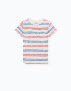 Lefties - t-shirt riscas - 0-649 - 01000702-V2016