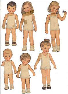 https://flic.kr/p/2mkB2W | Queen Holden Paper Dolls 2.