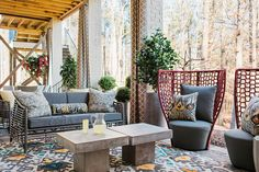 HGTV Smart Home 2016 Covered Porch. Part 3    From hospitality designs