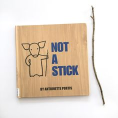 """""""Not a Stick"""" by #antoinetteportis is one of our favorites for open-ended imagination play books! Together with it's brother book """"Not a Box."""" 💙"""
