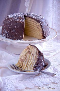 ✿ Sky Blues Kitchen ✿: ~ Coconut Crêpe Cake...