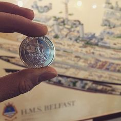 @ailsap22 on instagram: Gots my special coin from work #coinhunt #imperialwarmuseums #london #hmsbelfast