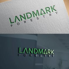 Create modern logo for our company Landmark Forestry. by AmazingMe™