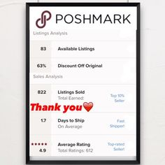 ❤️SUGGESTED USER-2X PARTY HOST❤️ Welcome to my closet!  I started selling on Posh in February 2014 and quickly became addicted! My closet contains NWT, NWOT & items that have only been worn once or twice.  I also sell items that have been donated to me by my mom & sister.  My family owns a chain of dry cleaners so, each item I sell has been very well taken care of.  My prices average 60% off retail and Posh takes an additional 20%, please keep that in mind while shopping.  Thank you for…