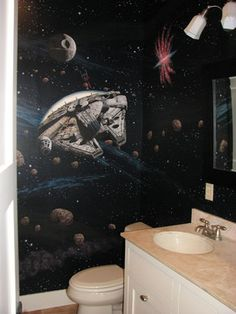 Star Wars Bedroom Stuff Design Ideas, Pictures, Remodel, and Decor - page 6