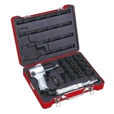 Commercial Tools> Air Tools: 18 PC Air Tool Set, Metric