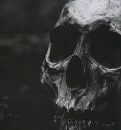 skull, dark, darkness