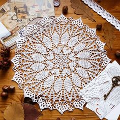 Crochet Doilies, Photo Wall, Rugs, Knitting, Home Decor, Crochet Round, Trapper Keeper, Farmhouse Rugs, Photograph
