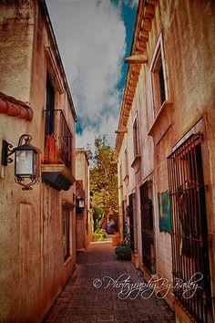 Tlaquepaque - Sedona, Arizona where we had our engagement session