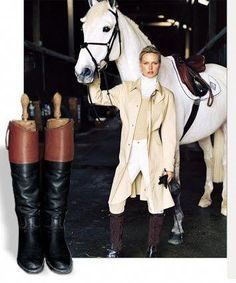 Equestrian Chic + Luxury Branding The Effective Pictures We Offer You About Equestrian Fashion ralph lauren A quality picture can tell you many things. You can find the most beautiful pictures that ca Equestrian Chic, Equestrian Outfits, Equestrian Fashion, Cow Girl, Horse Girl, Horse Riding, Riding Boots, Cowgirl Boots, Western Boots