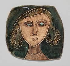 Image result for rut bryk Modern Ceramics, Glass Ceramic, Finland, Scandinavian, Uppsala, Pottery, Retro, Faces, Clay