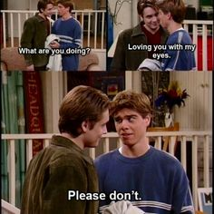 Boy meets world :).. Eric and Jack... love them both so much