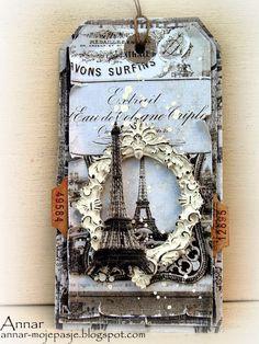 """** Altered Tag """"Paris"""" @AnnarMojepasje"""