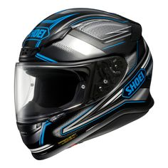 Shoei RF-1200 Dominance Blue/Black | Bob's BMW