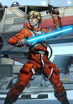 Luke Skywalker | Starwarsfanart.com | Star Wars | Star Wars Art #starwarsfanart #starwars #starwarsart #starwarsartwork #artwork #art #lukeskywalker #luke #skywalker #jedi