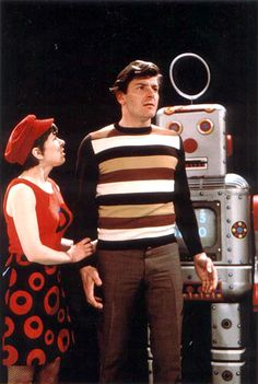 """Peter Purves as Steven Taylor and Jackie Lane as Dodo Chaplet - """"The Celestial Toymaker"""" - 1966 I Am The Doctor, First Doctor, Good Doctor, Classic Series, Classic Films, Dr Williams, Doctor Who Companions, William Hartnell, Classic Doctor Who"""