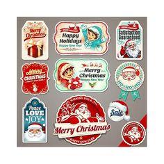 En güzel dekorasyon paylaşımları için Kadinika.com #kadinika #dekorasyon #decoration #woman #women free vector Happy New Year Merry Christmas Gift Cards
