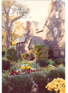 House of the Seven Gables & gardens - Salem, Ma.