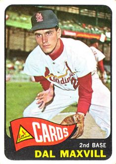 1965 Dal Maxvill, Second Base, St Louis Cardinals St Louis Baseball, St Louis Cardinals Baseball, Baseball Park, Pirates Baseball, Stl Cardinals, Baseball Jerseys, Baseball Stuff, Nfl Football, Baseball Card Values