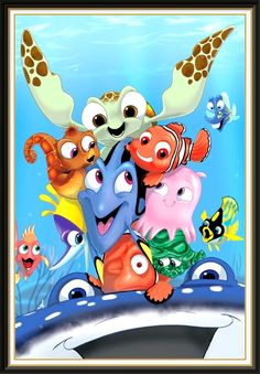Finding Nemo - Disney Art