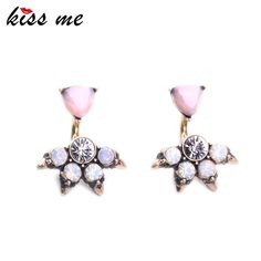 Pink Opal Stud Earrings for Women Fashion Jewelry Charming Party Antique Gold Plated Earrings Great, huh?Visit us:  http://www.servjewelry.com/product/kiss-me-brand-pink-opal-stud-earrings-for-women-fashion-jewelry-charming-party-antique-gold-plated-earrings/ #shop #beauty #Woman's fashion #Products #homemade