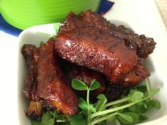 My Mind Patch: Sweet & Sour Pork Ribs 糖醋排骨 (Non-fried)