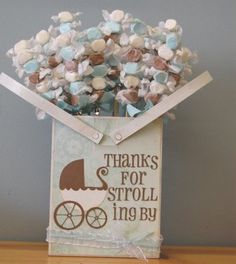 Great idea for a Baby Shower Favor