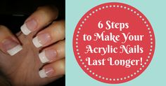 Figuring out how to make acrylic nails last longer can be a task especially when you start to get that huge gap between the acrylic nails and the cuticles..