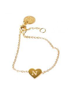SOPHIE by SOPHIE heart bracelet INFORMATION Bracelet in gold plated silver.  Measurements  Heart measures 4dace8b99a555