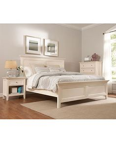Sanibel Bedroom Furniture Collection - furniture - Macy's .. looks exactly like Crate and Barrel's Harbor collection but less expensive
