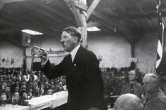 Adolf Hitler is speaking