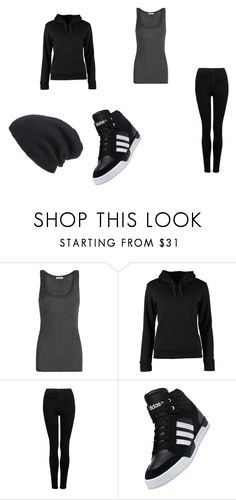 """outfit to see Andy ith in story"" by yami-ka ❤ liked on Polyvore featuring American Vintage, Urban Classics, Forever New, adidas and Leith"