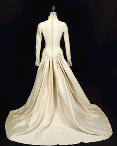 Maria's Wedding Dress as worn by Julie Andrews!  It's up for auction this fall.  More pictures at http://www.edelweisspatterns.com/blog/?p=4194