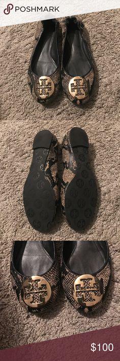 Tory Burch Flats Snake skin Tory Burch Flats Tory Burch Shoes Flats & Loafers