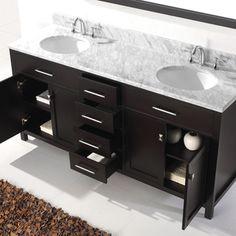 72 in bathroom vanity double sink. Virtu USA Caroline 72 Inch Double Sink Bathroom Vanity Set  Overstock Shopping Victoria inch White in