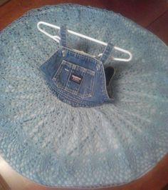 Handmade Crochet Dress, Little Girls Crochet Dress, Babies Dress