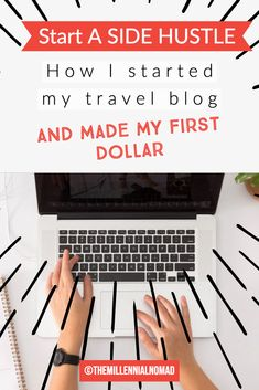 Are you thinking of starting a blog? Discover how I got started and made my first dollar online. #bloggingtips #travelblog #blogging #blogger #sidehustle